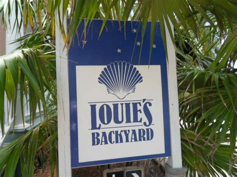 louies backyard lunch key west florida things to do - Louie S Backyard Key West