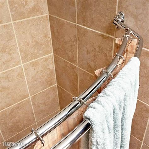 how to make a curved shower curtain rod quick home upgrades that deliver big results the family handyman