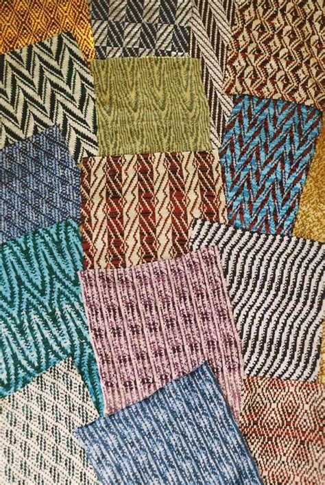 fabric weaves machine knitting designs