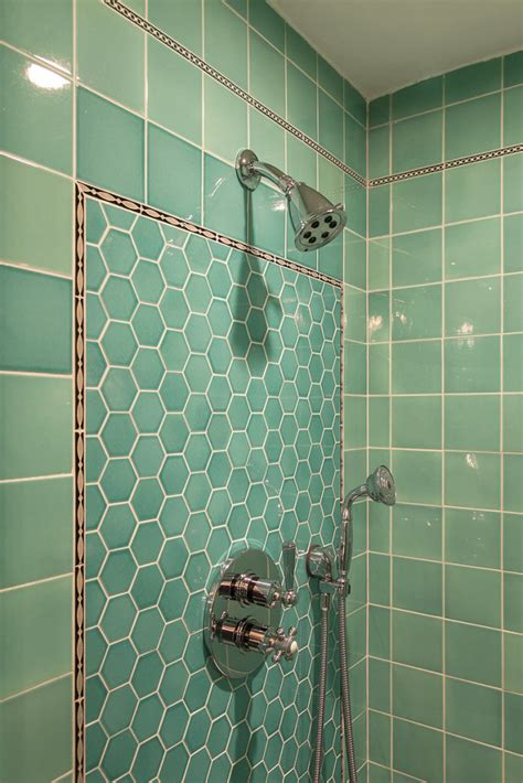 Tile Bath Shower pacific heights art deco bathroom gail schweitzer custom