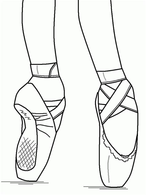 coloring pages ballerina shoes shoes coloring pages print coloring home
