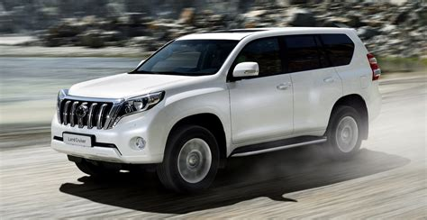 2014 Toyota Prado Facelifted Suv Here In October Three