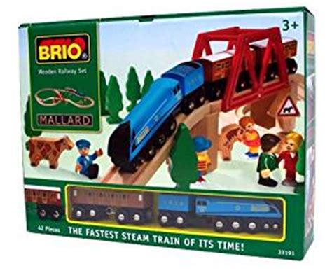 brio train games brio brio mallard train set amazon co uk toys games