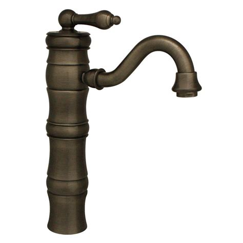 pewter bathroom faucet whitehaus collection vintage iii single hole single handle