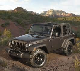 Jeep Willys Wheeler 2014 Jeep Wrangler Willys Wheeler Edition Goes Back To The