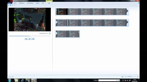 windows live movie maker tutorial cut how to cut out sections of a video with movie maker youtube