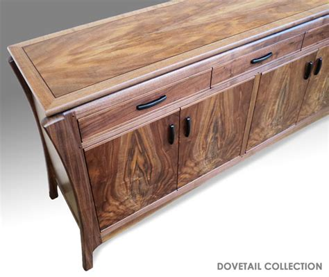 Dovetail Handcrafted Furniture - dovetail collection handmade wood furniture american