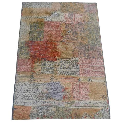 paul rug paul klee quot florentinisches villenviertel quot rug by ege axminster at 1stdibs