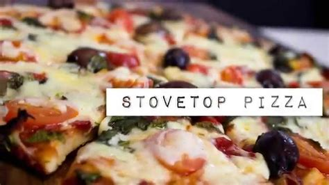 dailydelicious easy stove top pizza no oven needed how to make delicious stove top pizza no oven required