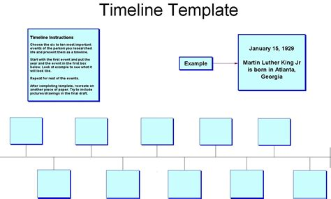 best timeline template timeline template for great printable calendars