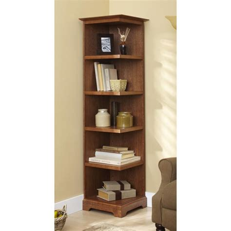 corner bookcase woodworking plan  wood magazine