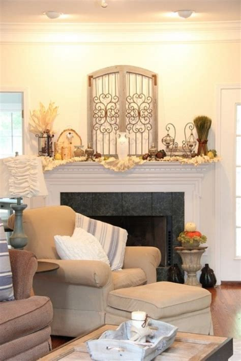 how to decorate a mantel 87 exciting fall mantel d 233 cor ideas shelterness