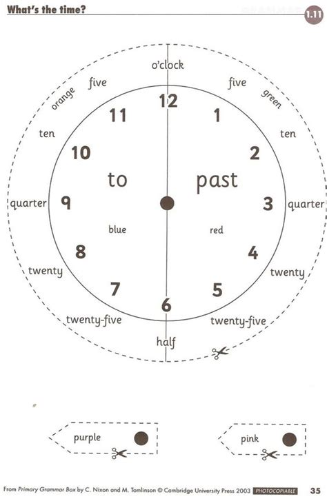 free printable quarter past worksheets free printable cut and paste telling time worksheets