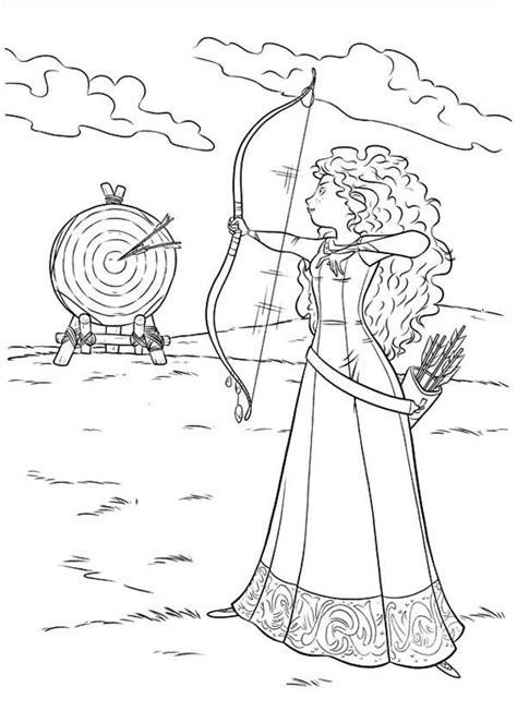 free printable disney brave coloring pages horse from brave coloring page az coloring pages