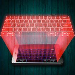 Keyboard Hologram hologram keyboard 3d simulator app ranking and store data app