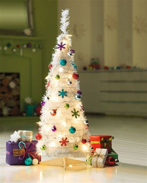 winterlane pop op tree add some festive cheer to your with this gorgeous white pop up tree