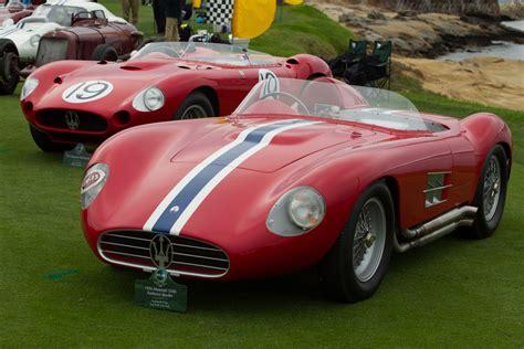maserati 350s maserati 350s chassis 3502 2014 pebble beach concours