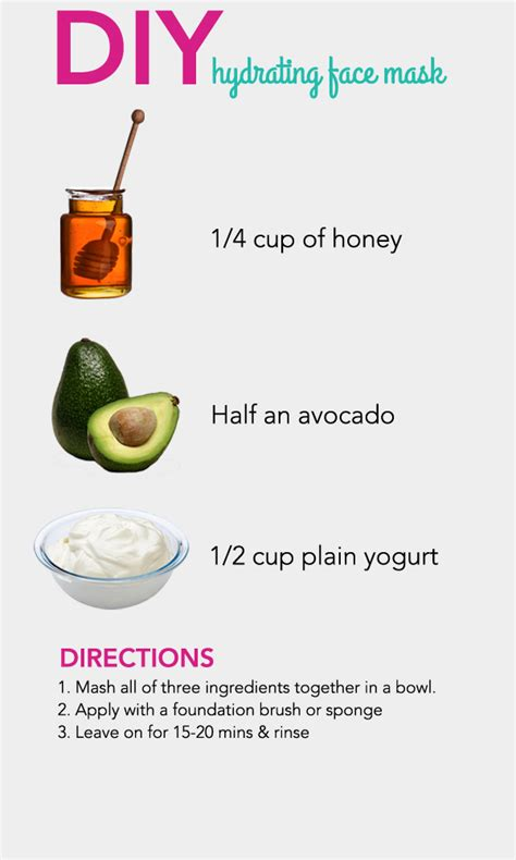 Diy Moisturizing Mask For Skin Diy Do It Your Self Diy Hydrating Mask Pictures Photos And Images For And