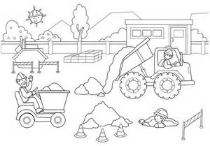 gallery gt construction coloring pages