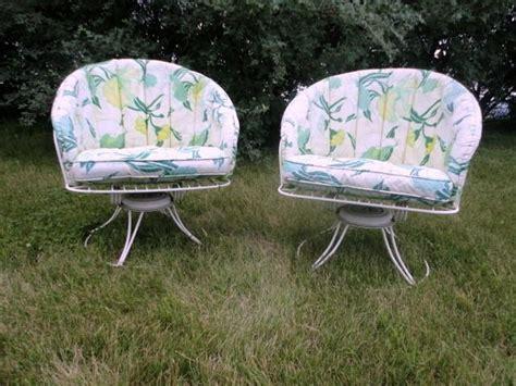 2 Mid Century Modern Homecrest Vintage Lawn Patio Wire Vintage Homecrest Patio Furniture
