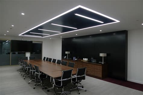 Conference Room Light Fixtures Continuous Lighting Swoosh