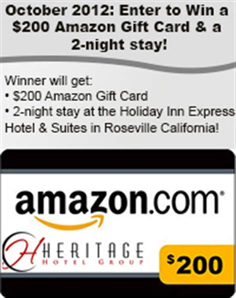 Country Inn And Suites Amazon Gift Card - october 2012 heritage hotel group blog