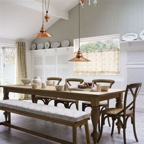 Kitchen Diner Lighting Style Kitchen Diner Decorating Ideas Image Housetohome Co Uk
