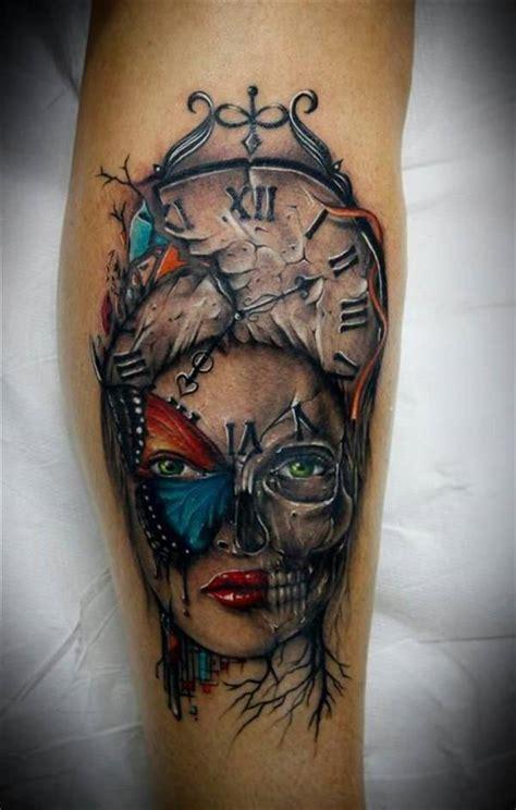 tattoo butterfly face 60 unterarm tattoo ideen ewige symbole nixe eule uhr
