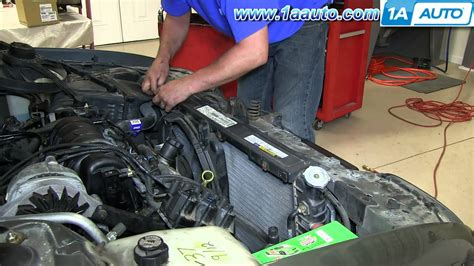 1998 buick lesabre radiator how to install replace primary engine radiator fan 1991 99