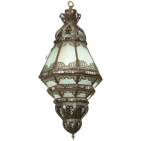 moroccan pendant light moroccan glass pendant at 1stdibs