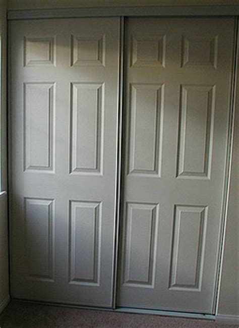 Closet Doors Before Jpg Replace Bifold Closet Doors Regular Doors