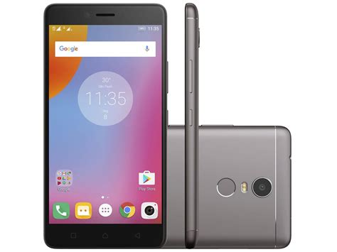 Lenovo K6 Plus Smartphone Lenovo Vibe K6 Plus 32gb Grafite Dual Chip 4g
