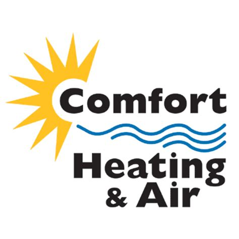 comfort heat and air visual touch logos