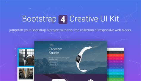 bootstrap 4 ui design system bypeople best free bootstrap 4 resources themes ui kits and freebies