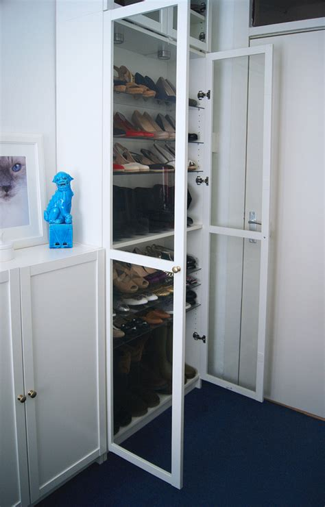 Bookcase Small My Ikea Billy Shoe Closet And Lots Of Shoes Tatiana S