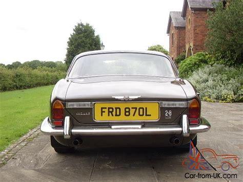 jaguar classic car insurance jaguar xj6 series 1 beautiful condition tax exempt classic