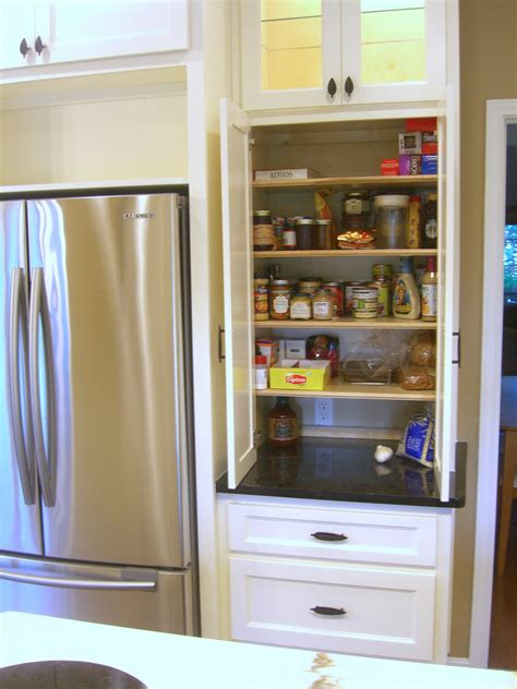 Kitchen Pantry Storage Cabinets by Smart Kitchen Pantry Cabinet Organizing Ideas For Clutter