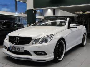 Used Mercedes Convertible For Sale Used Mercedes 2011 White Colour Petrol Class E500