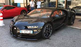 Carbon Bugatti Exposed Carbon Fiber Bugatti Chiron Spotted Proceeds To