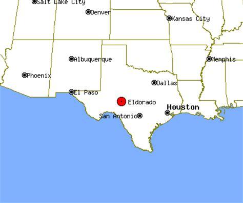 el dorado texas map eldorado profile eldorado tx population crime map
