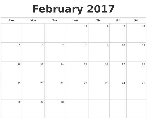 blank monthly calendar 2017 printable may 2017 month calendar