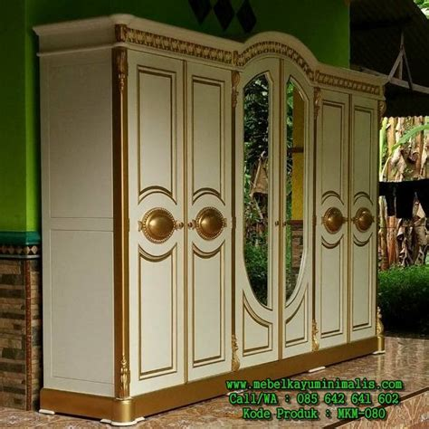 Lemari Pakaian Ukir Jepara lemari pakaian ukir jepara mewah mebel kayu minimalis