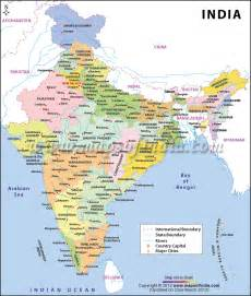 A Map Of India by India Map Free Large Images