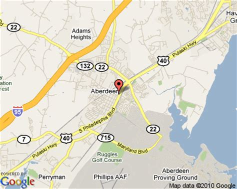 maryland map aberdeen columbia md to aberdeen md images