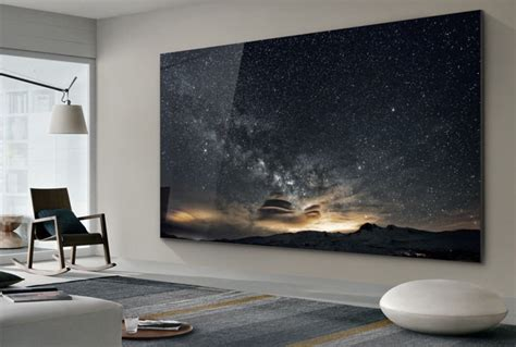 Samsung 219 Inch Tv Samsung Unveils 219 Inch 4k The Wall Tv