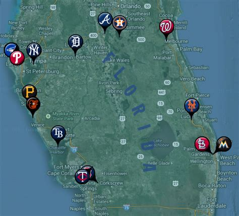 grapefruit league map 2014 mlb fanfood it s gameday somewhere