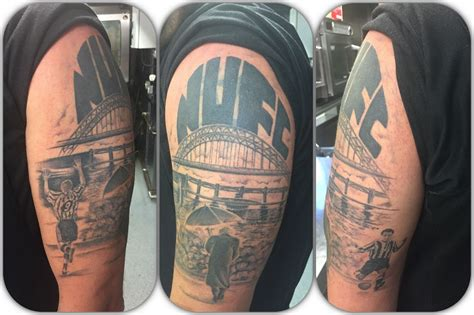 watercolor tattoos newcastle nufc tattoos chronicle live