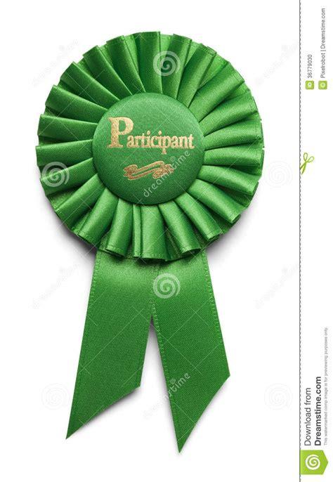 participant ribbon stock photo image 36779030