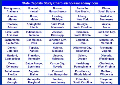 printable quiz states and capitals search results for fifty states and capitals calendar 2015