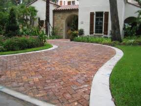 decor tips front yard with driveway pavers and paver bricks also lawn with flower garden